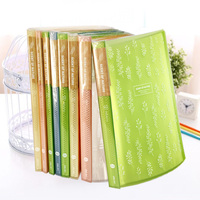1 PC Office Plastic Transparent Clear Book A4 20 Pockets Filing Products Documents Bag Business And