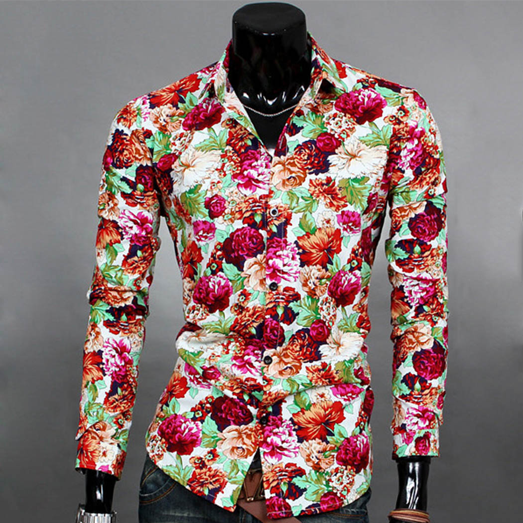Compare Prices on Floral Tops for Men- Online Shopping/Buy Low ...