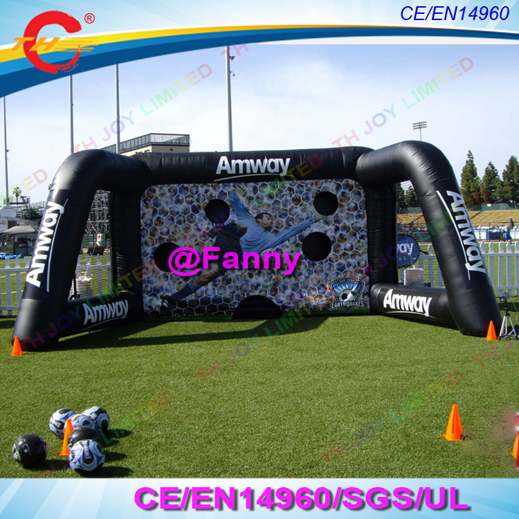 Aliexpress Com Buy G319 Soccer Shooting Custom: Giant Inflatable Soccer Goal 6x3x3m Portable Football Goal
