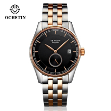 OCHISTIN Classic Casual Business Fashion Watch Men's Quartz Wrist Watches Male Wristwatch Seconds Sub-dial Calendar Waterproof