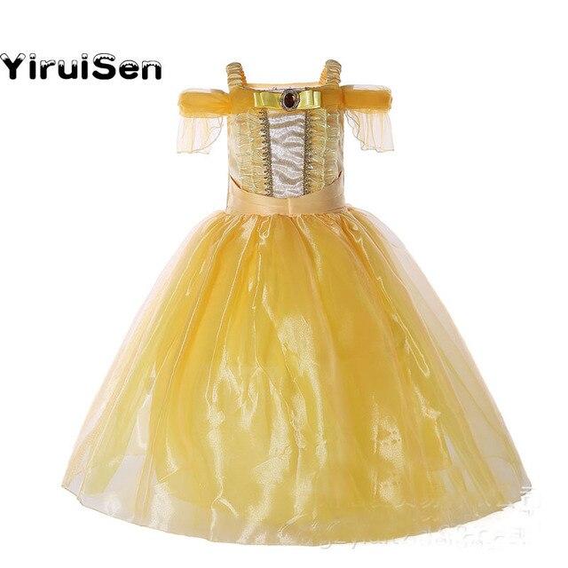 Gelbes kleid kind