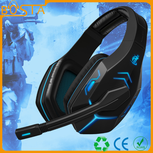 BINYEAE Gaming Headphone Earphone Gaming Headset Headphone Vibrant Earphone with Microphone Light for Pc Laptop Phone acer an515 51 584h gaming laptop