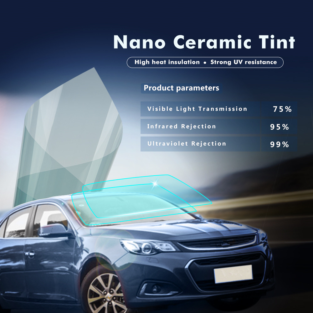 99 Uv Rejection Nano Ceramic Films For Car Building Glass