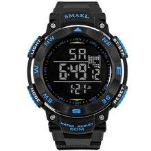Fashion Men Watches SMAEL Brand Digital LED Watch Military M