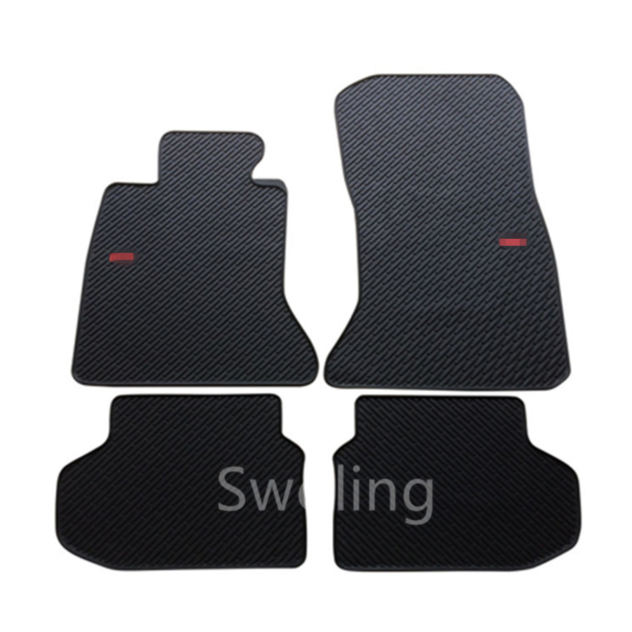 For BMW 5series Short Axis 2014 2015 2016 High Quality Waterproof Anti Skip Latex Durable Carpets Special Rubber Car Floor Mats
