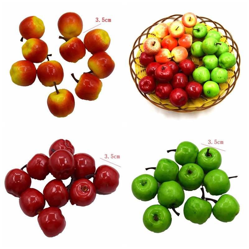 5pcs New Artificial Fake Foam Fruits and Vegetables Berries Scrapbooking Flowers For DIY Wedding Simulation Tree Decoration