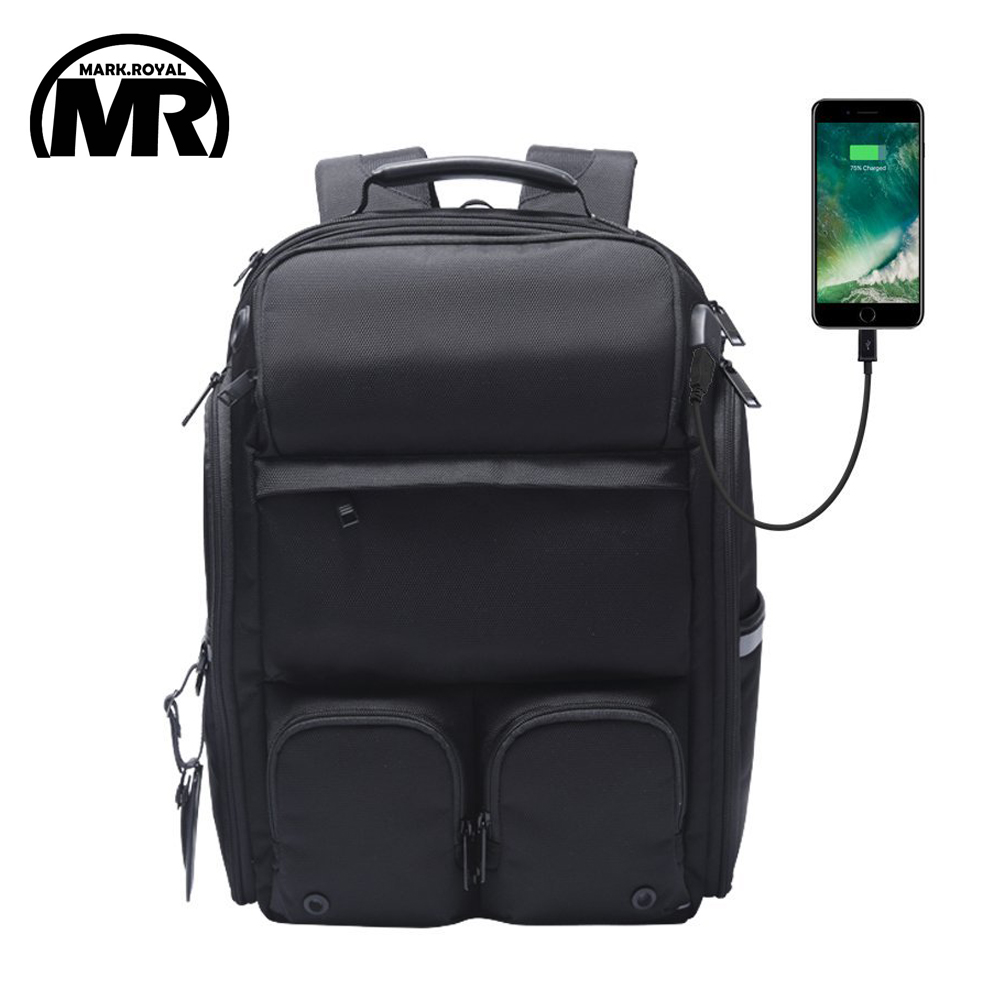 MARKROYAL Multi-functional Camera Backpack For Men Women USB Charging 15.6 Inch laptop School Bag Photography Male Mochila lowepro protactic 450 aw backpack rain professional slr for two cameras bag shoulder camera bag dslr 15 inch laptop