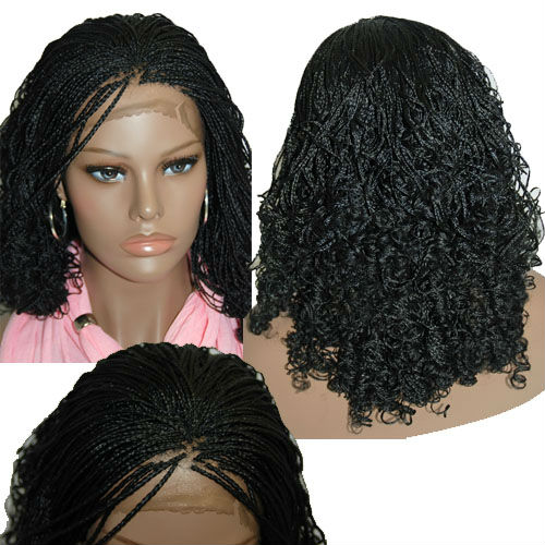 Free Shipping Fully Hand Braided Lace Front Wig Vanessa