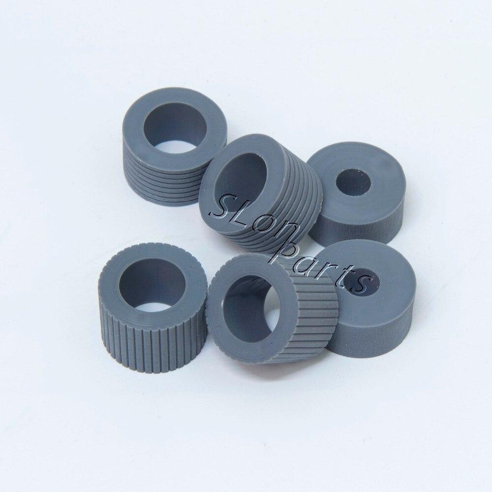 PA03338-K011 PA03576-K010 for Fujitsu 6670 6770 6750 fi-6670 fi-6770 fi-6750 fi-6670c fi-6770c fi-6750s Pick Roller Brake Roller