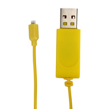 Yellow Charge Wire For Airplane Spare Parts USB RC Helicopter Charger Cable For Syma S107G Accessories Device(China)