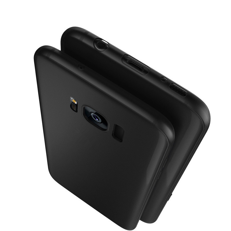 Black Color TPU Silicone Rubber Matte Case For Samsung ...