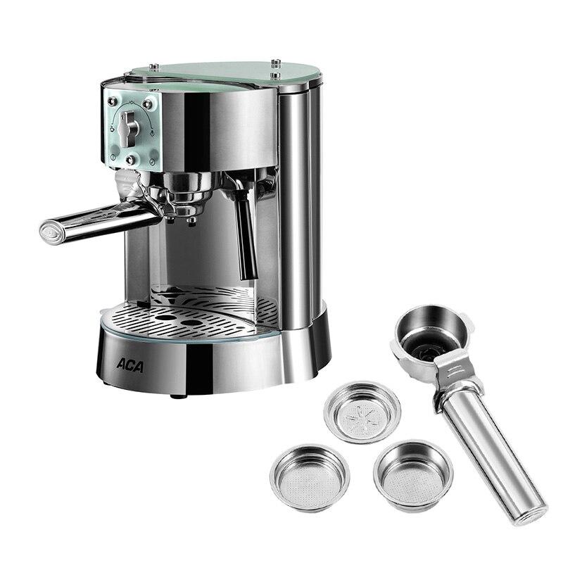 AC-EG10B Italiano Casa Semi-Automatico Macchina per il Caffè 15bar Pompa di Pressione In Acciaio Inox 42 Secondi Per Riscaldare