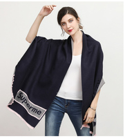 Vomint Quality Pashmina Scarf 2017 New Winter Stoles Women Scarf Female Cotton Wool Stoles L001