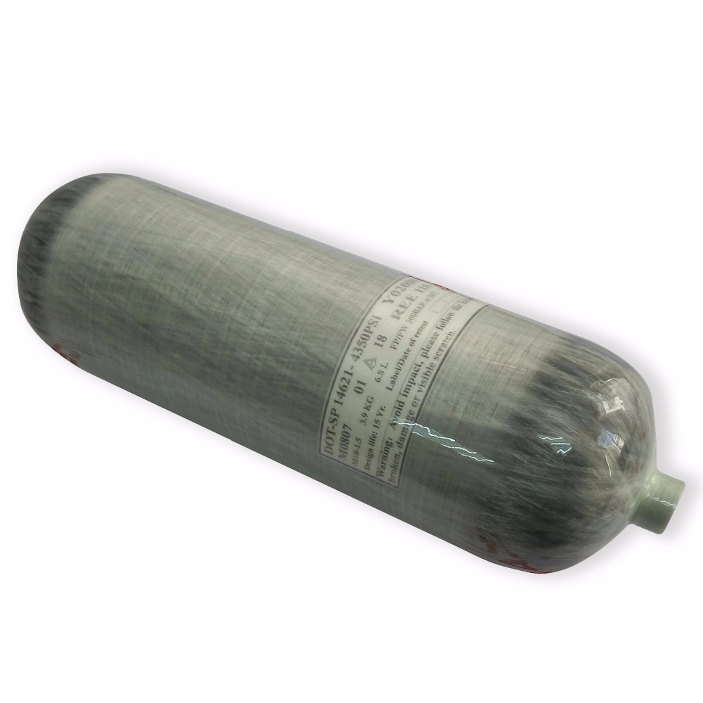 American Free Shipping Acecare HP 31Mpa DOT Certifcate 6.8L Carbon Fiber Gas Cylinder For Using Compressor  Drop Shipping