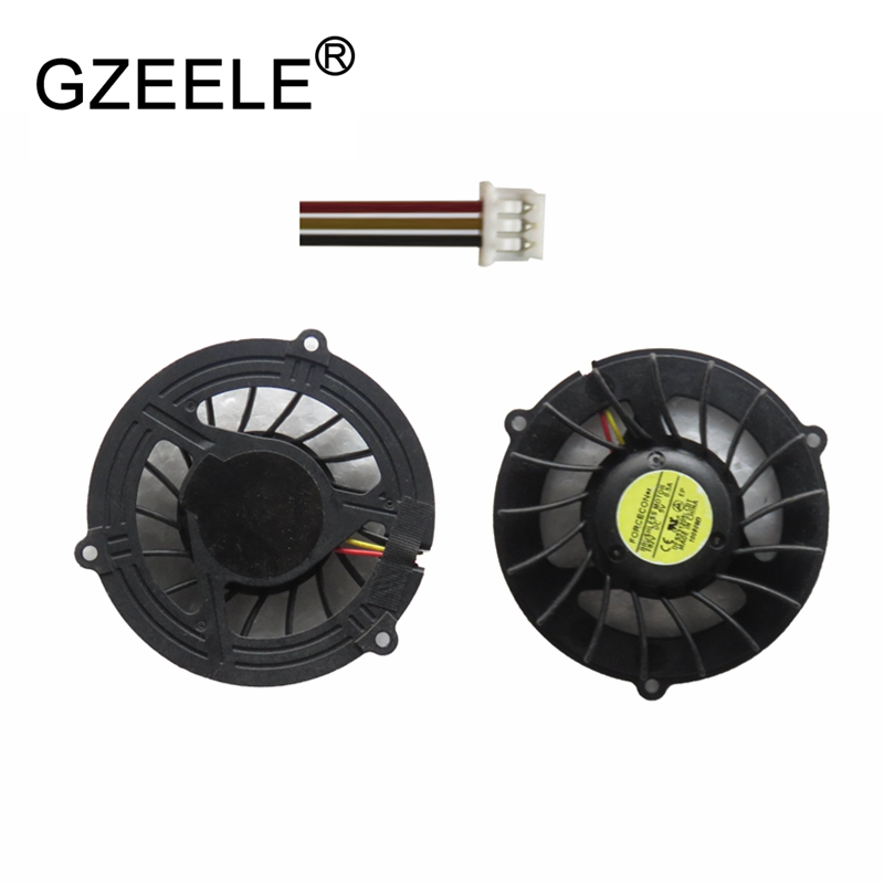GZEELE new Laptop cpu cooling fan for Dell Studio 1450 1457 1458 p03G Notebook Cooler Radiator Computer Replacement Cooler fans