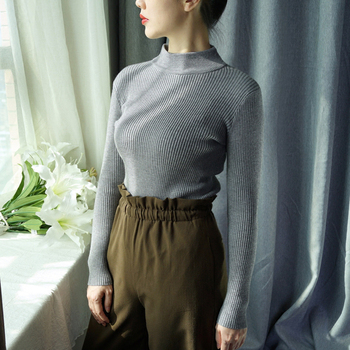 ONLYSTAR Women Sweaters and Pullovers Long Sleeve Knitting Women's Sweater Female Spring Autumn Sueter Mujer Pull Femme 2018
