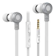 In Ear Stereo 3.5mm Headset In-Ear Earphones With Mic For iPhone Samsung MeiZu Tablet for MP4 MP3 Player