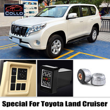 TPMS For TOYOTA Land Cruiser / Prado / Roraima / Tire Pressure Monitoring System Of External Sensors DIY Embedded Installation