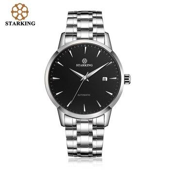 STARKING Original Brand Watch Men Automatic Self-wind Stainless Steel 5atm Waterproof Business Men Wrist Watch Timepieces AM0184 8
