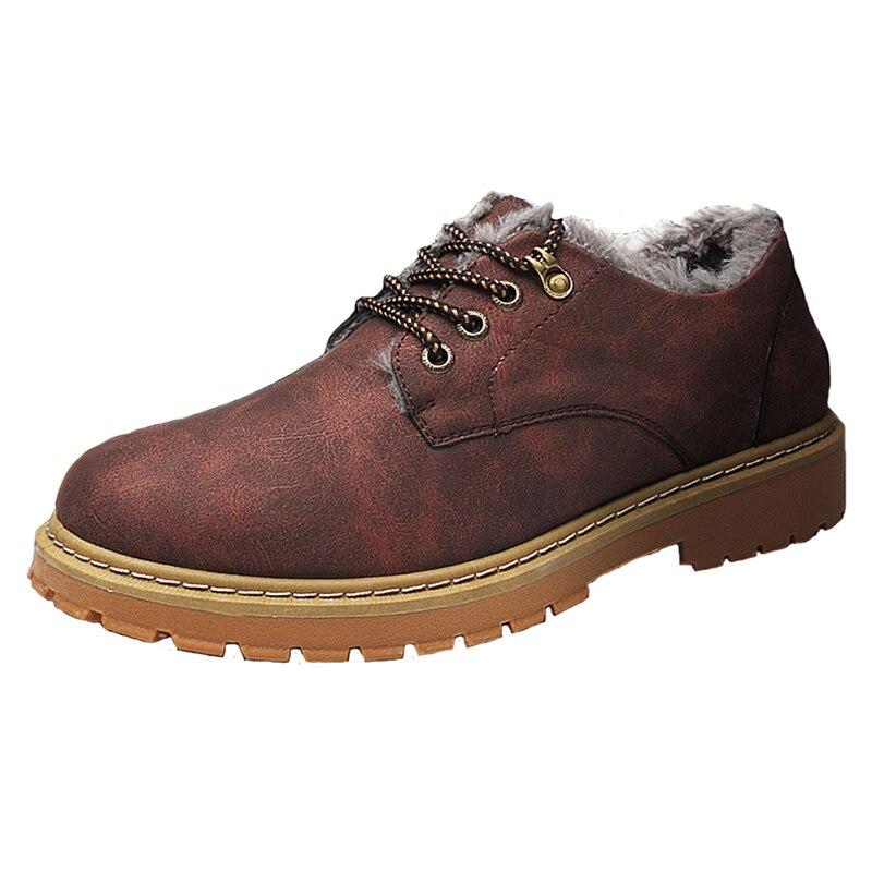 Herbst Und Winter Männer Casual Schuhe Herren Low-cut Military Stiefel Trend Mode Werkzeug Große Schuhe Retro Schuhe Martin Stiefel