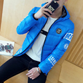TG6187 Cheap wholesale 2016 new With thick short cap men's wear quilted jacket coat male cotton-padded jacket trend