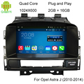 HD 1024*600 Пикселей Четырехъядерный процессор A9 1.6 ГГц Android 5.1.1 Стерео DVD GPS Для Opel Astra J С 3 Г/4 Г WiFi OBD DVR