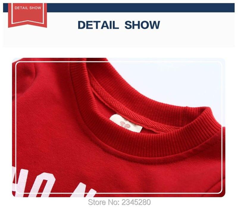 T-Shirts For Boys Girls Deer Animal Print Sweatshirt Clothes Childrens Sweaters Raglan Tops Teen Children Blouse Kids Tees Bobo05