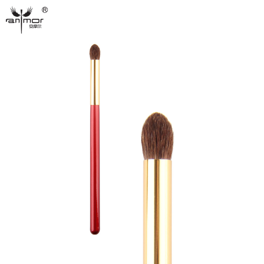 Anmor Eyeshadow Brush Pony Rambut Tapered Blending Brush Kualitas Tinggi Pinceaux Maquillage KL002