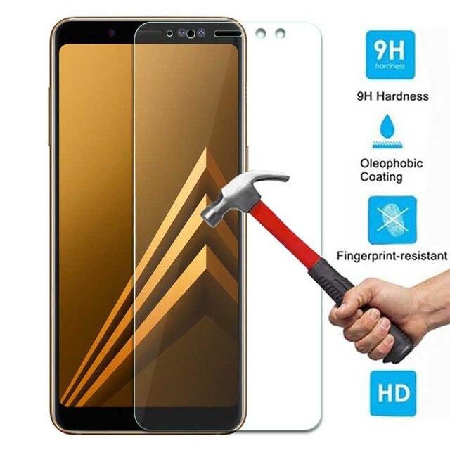 9 H de Vidro Temperado Para Samsung Galaxy A8 2018 Temperado Tela de Vidro Para Samsung Galaxy A8 2018 A530 A530f SM a530F protetor Flim