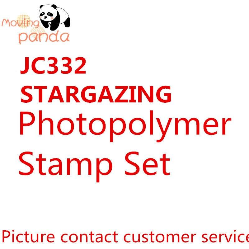 JC332 STARGAZING Metal Cutting Dies And Stamps New 2019 Scrapbook Stamping Embossing Stencil Diy Album Craft Gift Paper