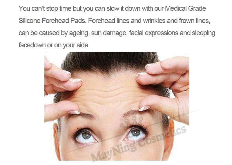 Almofada anti-rugas levantamento testa máscara impede rápida