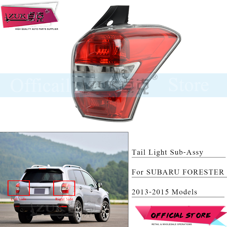 ZUK Left or Right Rear Brake Tail Light Tail lamp Taillight For Subaru Forester 2013 2014