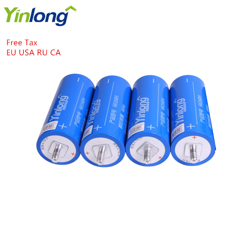 4PCS LTO66160H 2.3V 40Ah Cylindrical Eco-friendly Lithium Titanium Oxide LTO <font><b>66160</b></font> Battery For Electric Vehicles Buses Yachts image