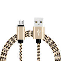 Micro USB Cable Fast Charging Nylon Braide Charger for Samsung Galaxy S7 S6 S5 for Xiaomi Redmi for Huawei Mobile Phone for LG