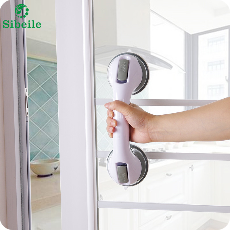 US $8.49 15% OFF|SBLE Rutschfeste Haltegriffe Bad Hand Saug Bad Dusche  Haltegriff Handlauf Super Sauggriff Dusche-in Haltegriffe aus  Heimwerkerbedarf ...
