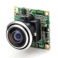 1000TVL 1 3 CCD 5MP 1 7mm 170 Degree Wide Angle Fisheye Lens HD FPV Camera