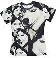 2016 New arrival Moda Louco muito doge husky cão animal print T-shirt das mulheres dos homens 3d engraçado 3d casual top tees plus size S-3XL