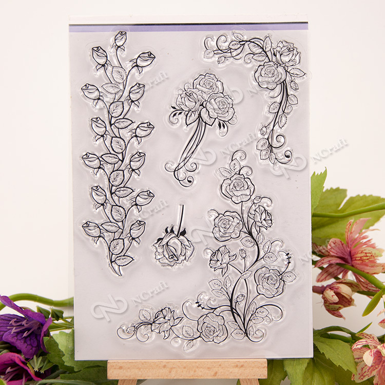 NCraft Clear Stamps N2174 Scrapbook Paper Craft Clear stamp scrapbooking