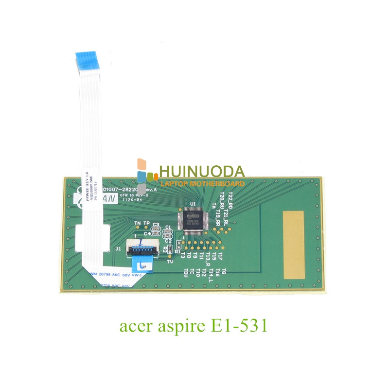 acer aspire e1 571g 33126g50mnks NOKOTION for acer aspire E1-531 E1-571 201007-282205 touchpad board with cable