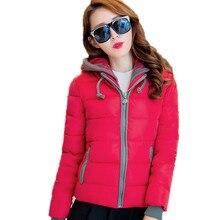 NEW Fashion Women Winter Cotton Jacket Plus Size Thicken Super Warm Coats Hooded Jacket Splicing Slim padded Coat Parka FC2456
