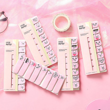 2018 On Sale Office Writing Cocoa Pink Pig Post It Bookmark Memo Marker Point Flags Sticky Notes label Decoration