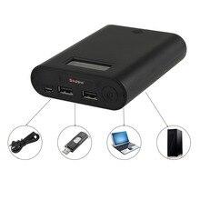 Soshine E3S Портативный Банк силы и Зарядное Устройство с Двумя USB и ЖК-Дисплеем для Литий-ионная 18650 3.7 В Батареи