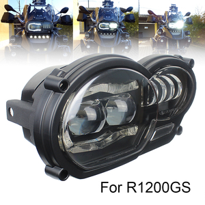 Image 3 - For BMW R1200GS 2008 2009 2010 2011 Protective cover Led Headlight Assembly New Motorcycle Light Lightings DRL Original Complete