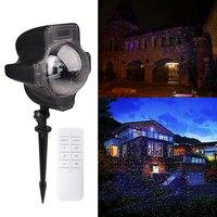 Magie RGB Projecteur Lumière Coloré Paysage Lampe Décoration Éclairage Étanche Extérieure Jardin Lumières Avec Télécommande