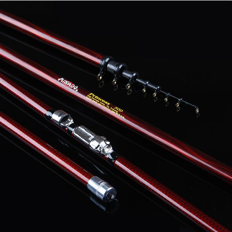Carbon Fiber Fishing Pole Rock Fishing rod Super Hard telescopics fishing rod  4m/5m/6m/7m Power Hand Rods Fishing Tackles high quality carbon fiber deep sea boat fishing rod 1 8 2 1 2 4 2 7m super hard fishing pole lure rod fishing tackle