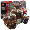 287 unids bela 10015 mater pixar cars 2 último construir bloques de construcción modelo juguetes compatibles con lego