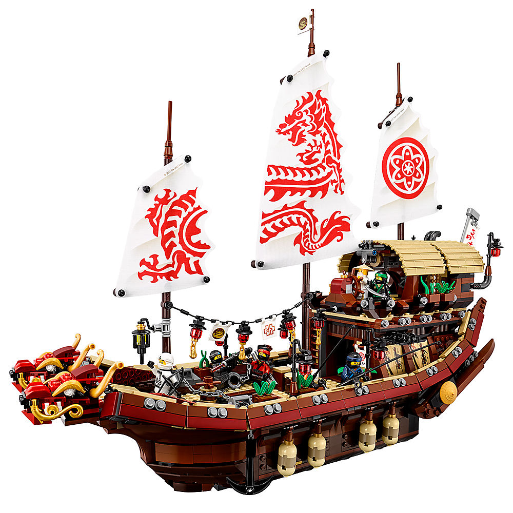 Lepin Ninjagoe Movie 2345pcs Building Blocks toys for Childrens Bricks Destinys Bounty gifts Compatible Legoe Ninjagoe 70618