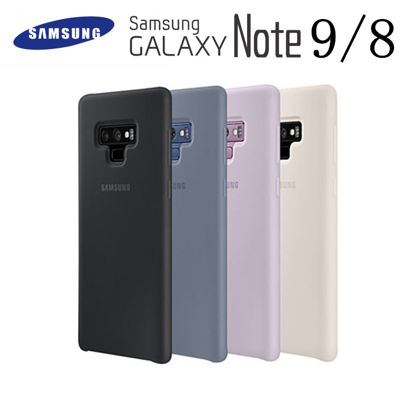 Samsung Note 9 Case Original High Quality Soft Silicone Protector Case Samsung Galaxy Note 8 Case Galaxy Note9 Silicon Cover