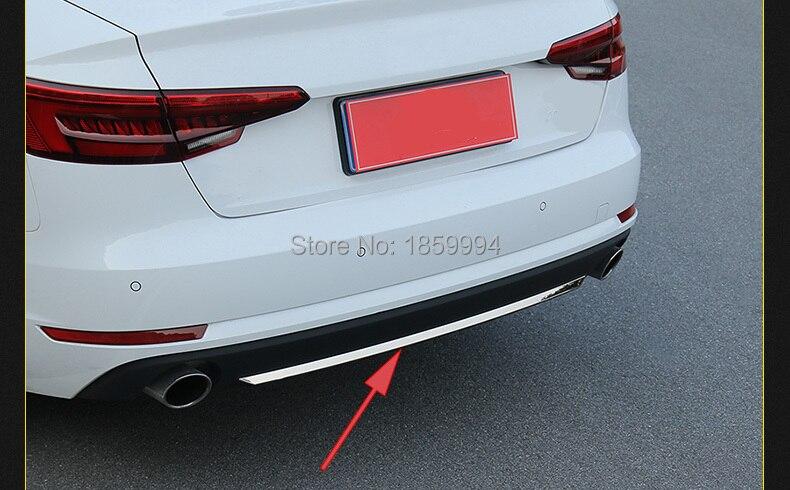 untuk 2017 2018 2019 audi a4 b9 4drs sedan refit rearguards batang - Bahagian auto - Foto 3