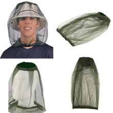 Новая уличная рыболовная Кепка Midge Москитная шляпа от насекомых Рыболовная Шапка баг сетка для защиты лица туристическая Кепка для кемпинга H5